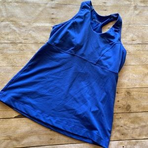 Marika work out tank with built in bra